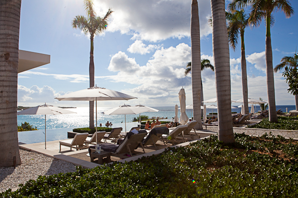 One of the infinity pools at Viceroy in Anguilla