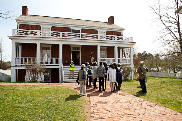 McLean House at Appomattox National History Park
