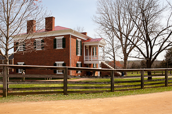 Courthouse at Appomattox National History Park