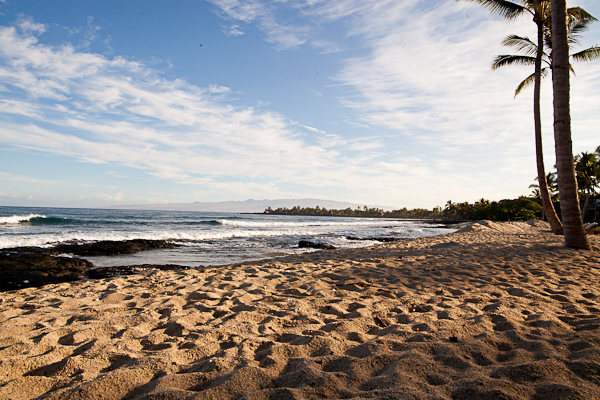 Beach time at the Four Seasons Hualalai
