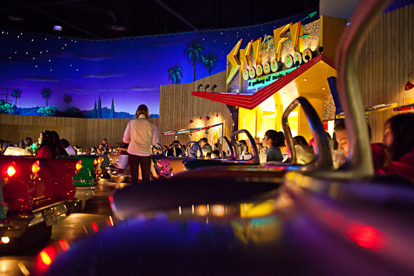 Sci-Fi Dine-In Theater Restaurant at Disney's Hollywood Studios