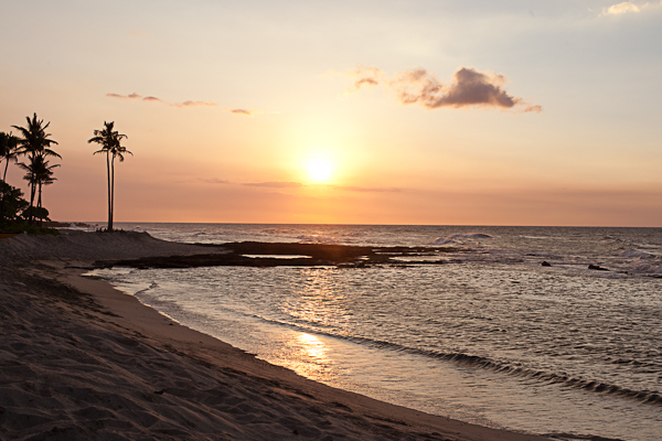 Sunset at the Four Season Hualalai