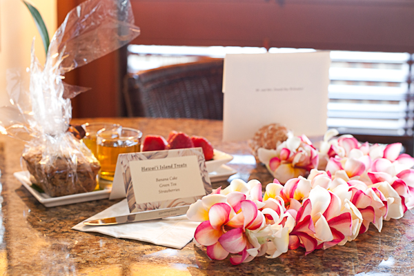 Warm room welcome at the Four Seasons Hualalai