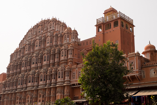 Hawa Mahal (Hall of Winds) in Jaipur, India