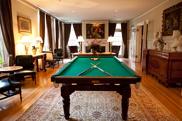 Billards at Keswick Hall
