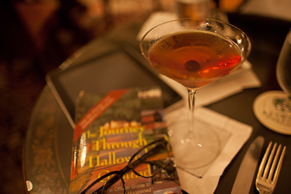 Manhattan time in Virginia at Keswick Hall's Villa Crawford Bar
