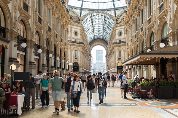 Galleria Vittorio Emanuele II - Milan shopping at its finest
