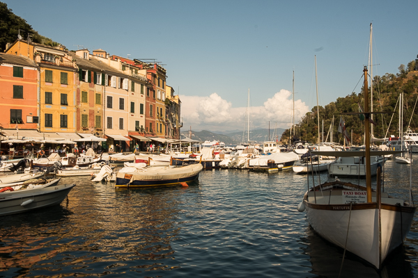 Harbour of Portofino, Italy