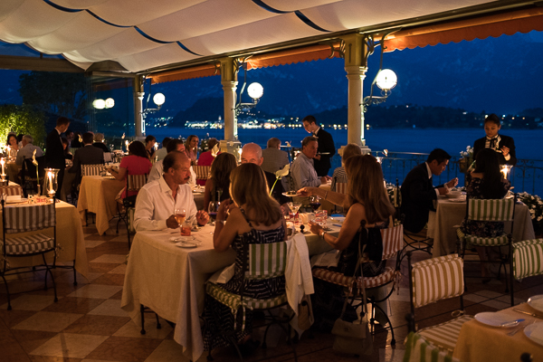 Romantic dining at La Terrazza