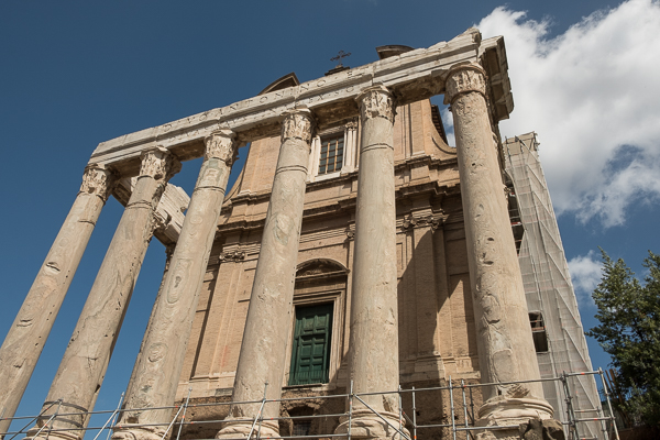 Roman Forum - Temple of Antoninus Pius and Faustina