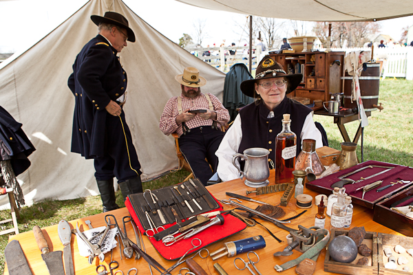 Medicine show in Appomattox, Virginia