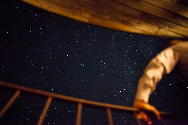 Starry nights at Post Ranch Inn