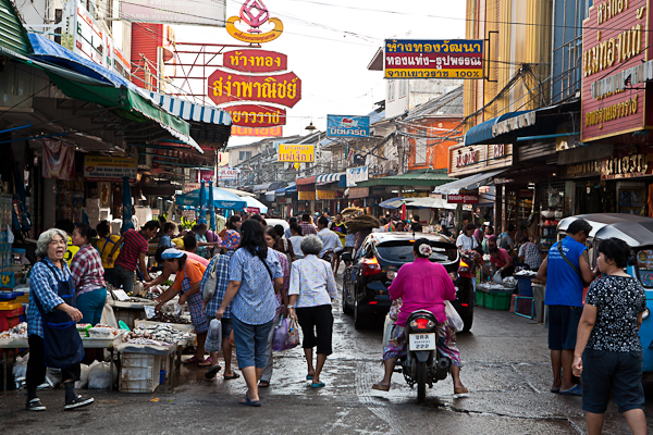 Mahachai Market outside of Bangkok