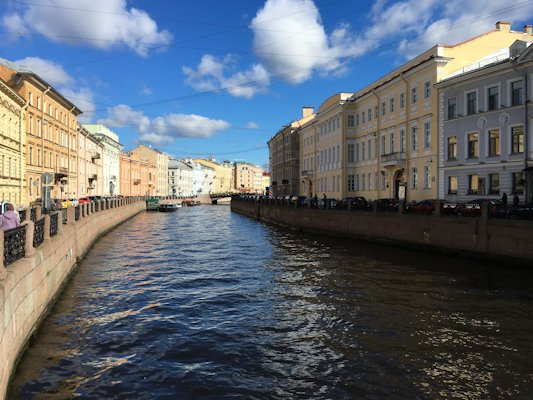 Canal in St. Petersburg