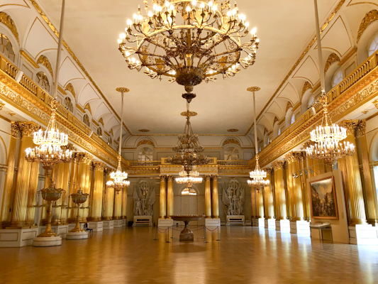 Winter palace at the Hermitage
