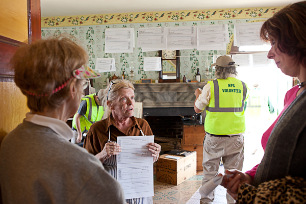 Parole printing operation at Appomattox National History Park
