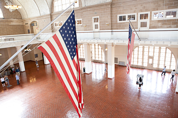 Registry Room of Ellis Island